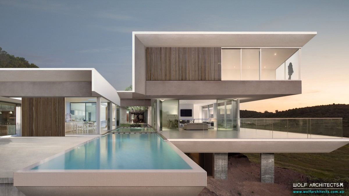 Luxury Contemporary Residential Design Wolf Architects