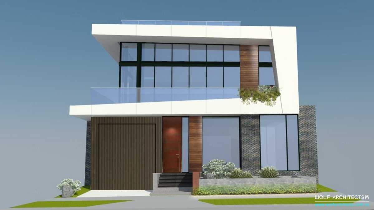 Beach front view unit development