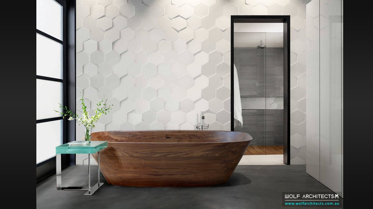 modern animated designer bathroom