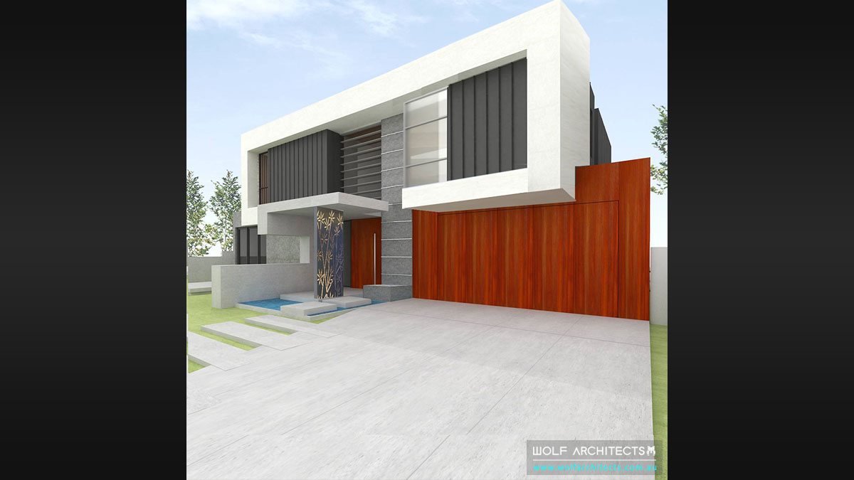 Future vision luxury home