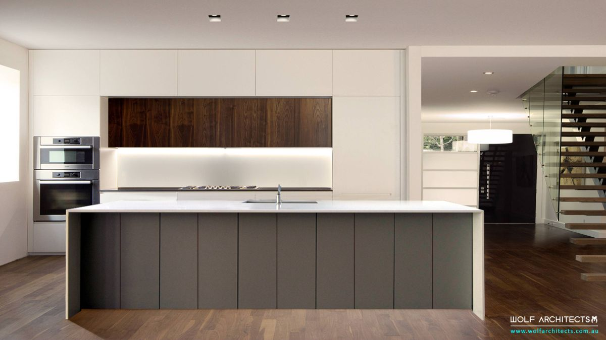 architect clean designed Kitchen