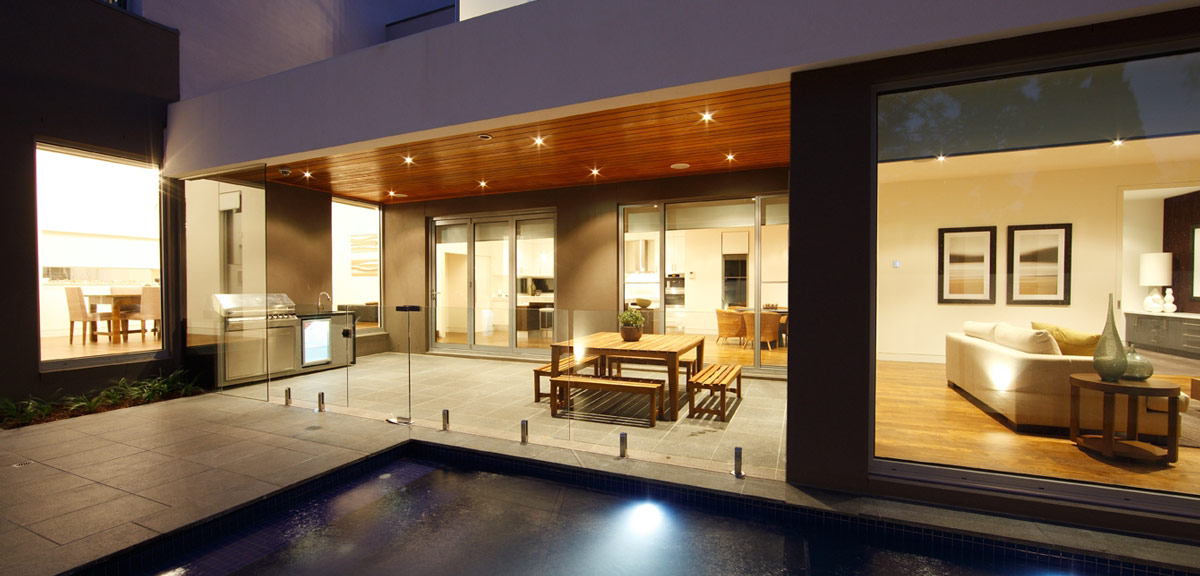 Indoor outdoor living lifestyle